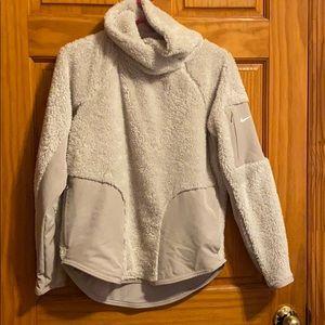 Nike furry sweater/jacket